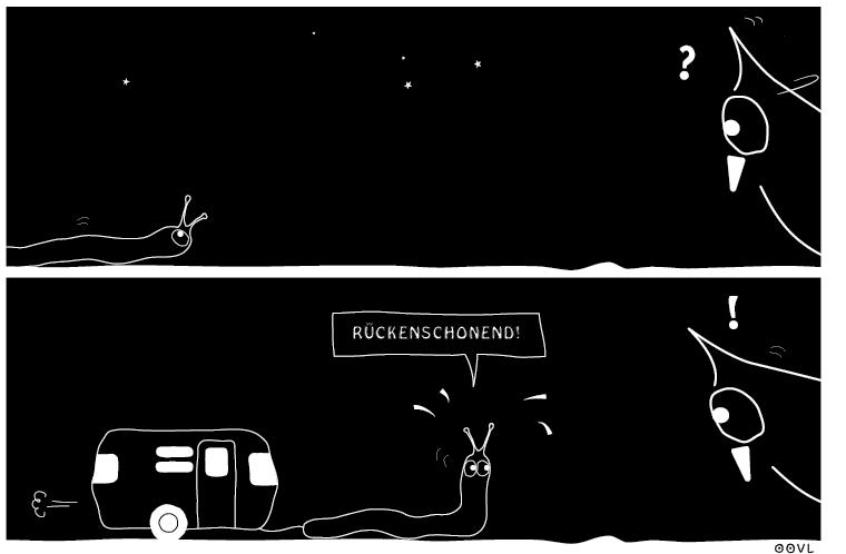 Ein OOVL-Comic von Vera Liesmann