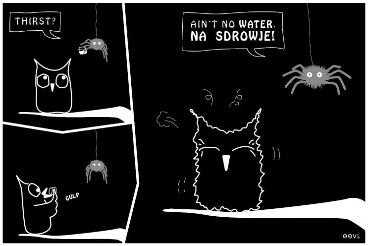 Ein OOVL-Comic von Vera Liesmann über eine besondere Freundschaft.