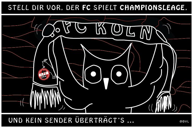 Ein OOVL-Comic von Vera Liesmann über des Kölners absurde Liebe zu seiner Heimat.