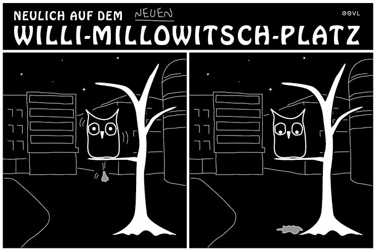 Ein OOVL-Comic von Vera Liesmann über das schöne Köln.