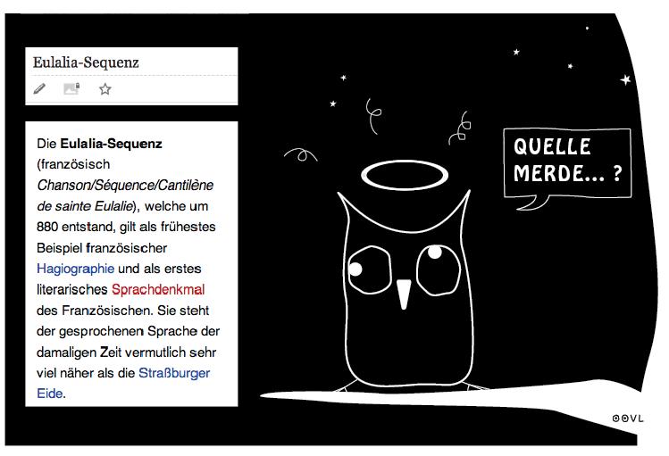 Ein OOVL-Comic von Vera Liesmann.