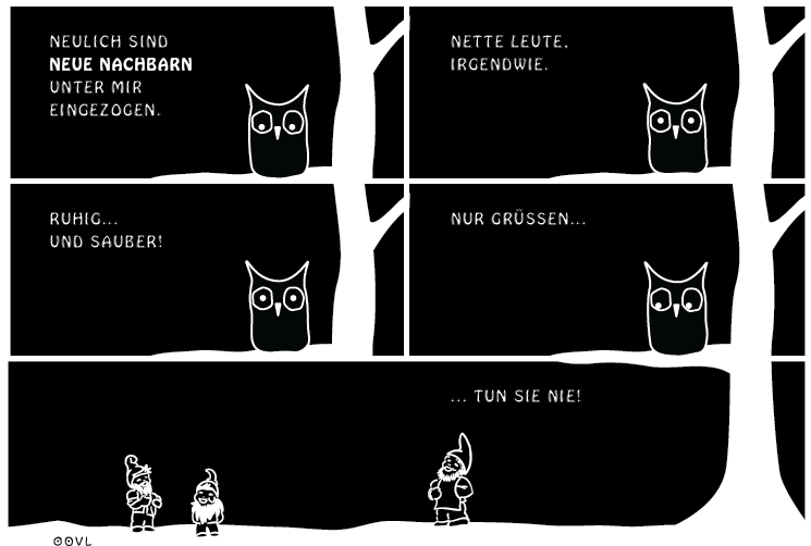 Ein EULALIA THE OOVL Comic von Vera Liesmann über das Deutschsein.