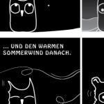 Ein EULALIA THE OOVL Comic von Vera Liesmann über Phänomene der Natur.