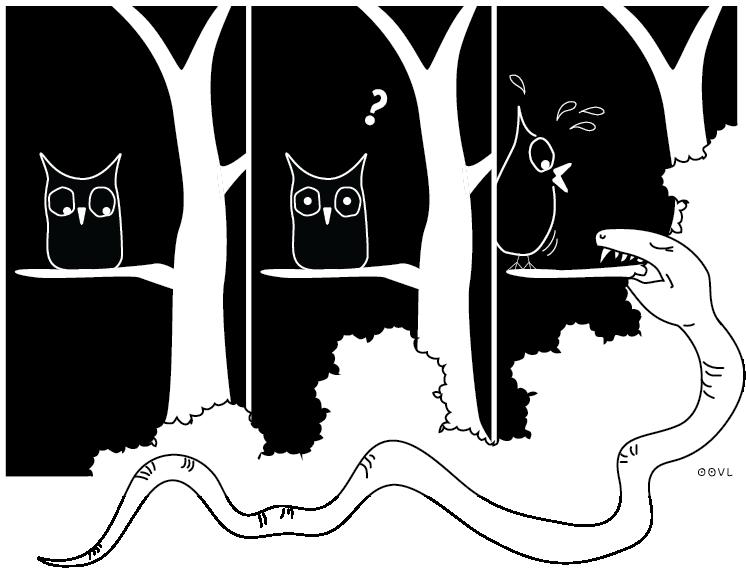 Ein OOVL-Comic von Vera Liesmann über... gute Frage!